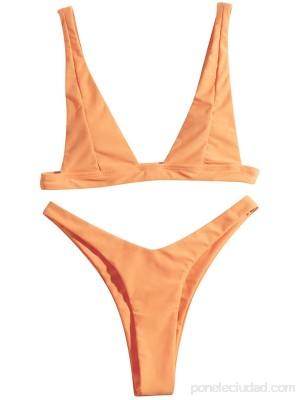 Skaw Mujer Bikini De Encaje SóLido Conjunto Push Up Traje De BañO Ropa De Playa Traje De BañO Acolchado .es Ropa y accesorios