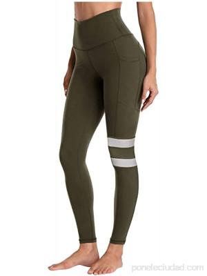 2021 Nuevo Mujer Leggings Pantalones Elásticos Mallas de Bolsillo Color sólido Alta Cintura Pantalones Largo Fitness Leggings Gym Yoga Secado rápido Slim Fit Pant Deportivos Running Aptitud Pantalon .es Ropa y accesorios