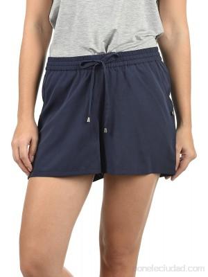 BlendShe Amal Pantalón Chino Corto Shorts para Mujer .es Ropa y accesorios