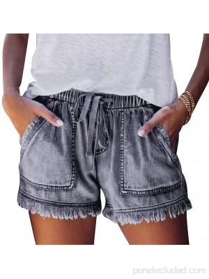 Pantalon Corto Mujer Shorts Baratos Mujeres Pantalones Cortos De Algodón Mujeres Pantalones Cortos De Talla Grande Mujeres Pantalones Rotos Mujer Pantalon Corto Deporte Pantalones Gris Negro XL .es Ropa y accesorios