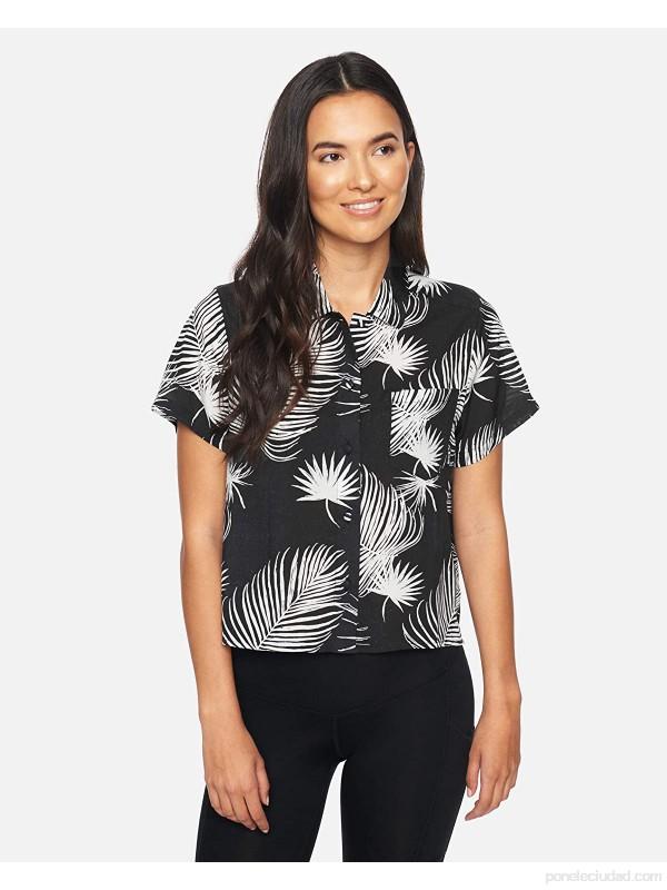 Hurley W Getaway Printed S S Camisa Mujer .es Ropa y accesorios