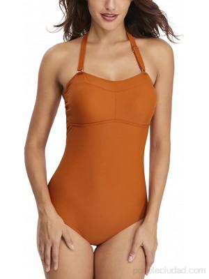 Moda Mujer Trajes de baño de una pieza Traje de baño con control de barriga Traje de baño con cuello halter .es Ropa y accesorios