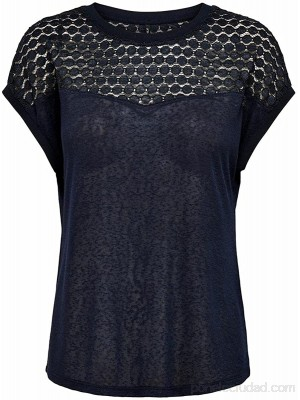 Only Onlnew RIE S S Mix Top Jrs Camiseta para Mujer Ropa y accesorios