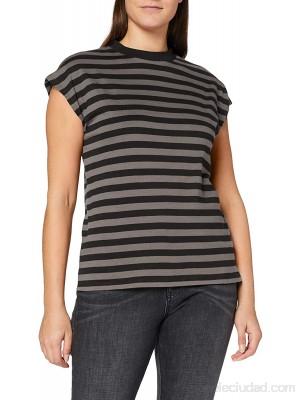 Urban Classics Ladies Y D Stripe tee Camiseta para Mujer Ropa y accesorios