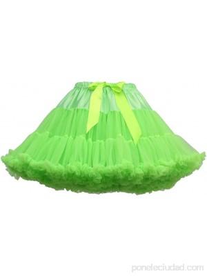 Lenfesh Mujeres Cancan Rockabilly 50s Retro Enaguas Faldas Baile de Ballet Tutu Faldas Color sólido con Lazo .es Ropa y accesorios